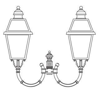 klassik-leuchten.de: 90020 mediterrane Gartenleuchte von Surya Terme