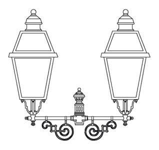 klassik-leuchten.de: 90023 Außenleuchte von Surya, Terme