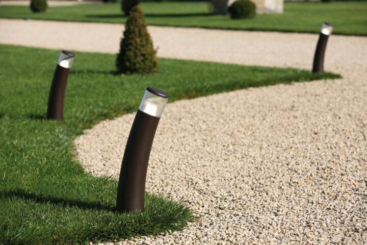 Bamboo Nr. 3 klassische Gartenleuchte von Roger Pradier