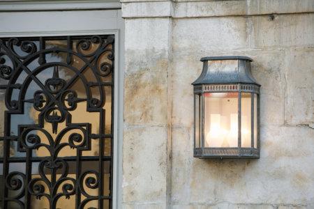 klassik-leuchten.de: 3.Louis Philippe Nr. 2 Rohzink, klassische Außenleuchte von Roger Pradier