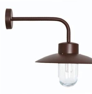klassik-leuchten.de: Kupfer Belcour Nr. 9 klassische Wandlampe von Roger Pradier