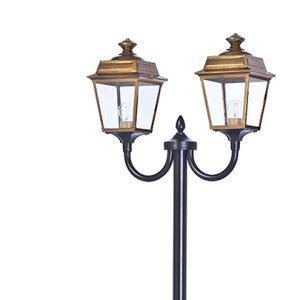 klassik-leuchten.de: M13. Place des Vosges 1 Tradition Nr. 13 aus Messing, klassische Außenleuchte von Roger Pradier
