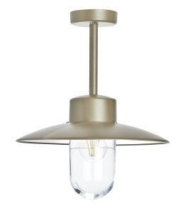 klassik-leuchten.de: Zink Belcour Nr. 2 moderne Deckenlampe von Roger Pradier