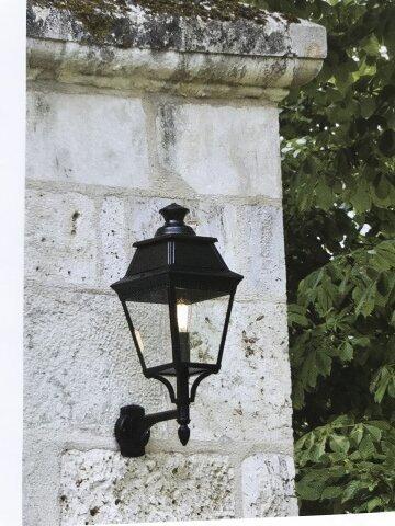 Avenue 2 klassische Wandlampe Nr. 07 von Roger Pradier
