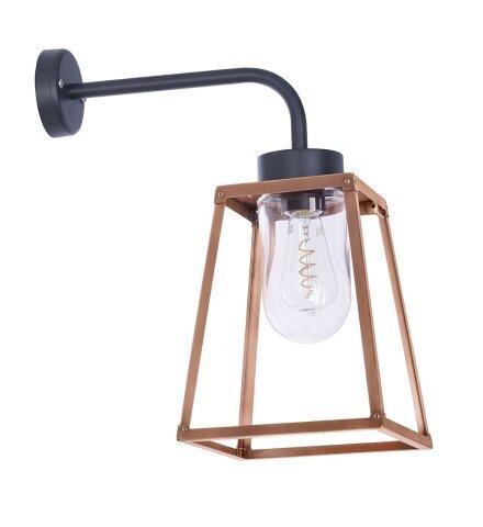 Lampiok 1 Nr. 5 aus Kupfer, Designer Wandlampe von Roger Pradier