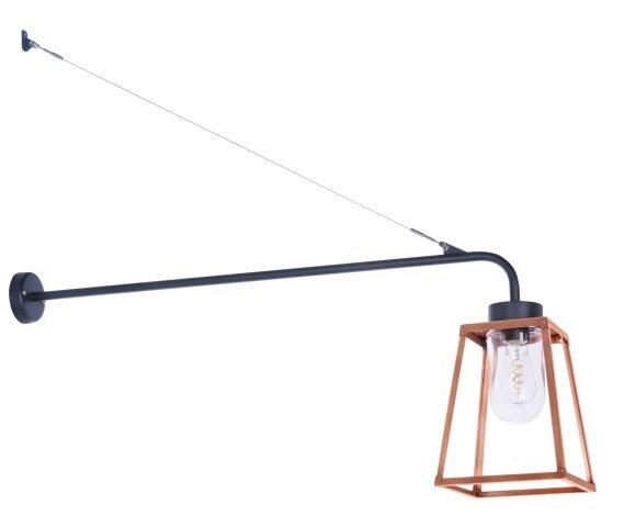 Lampiok 1 Nr. 6 aus Kupfer, moderne Designer Wandleuchte von Roger Pradier