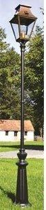klassik-leuchten.de: M3. Gartenleuchte Vieille France 3 Messing, klassische Außenleuchte von Roger Pradier