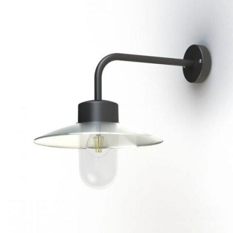 Belcour Nr. 9 klassische Wandlampe aus Zink von Roger Pradier